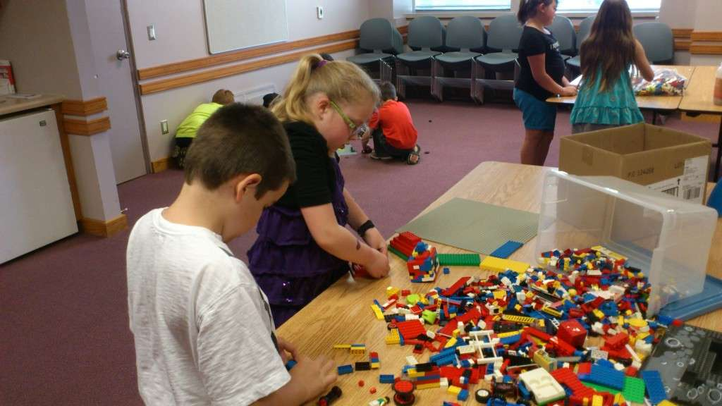 Kids at Lego Club
