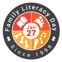 Family Literacy Day logo