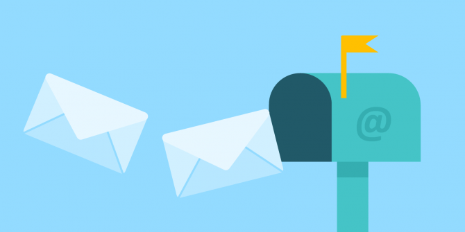 Mailbox with Link to Newsletter signup