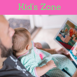 Kid's Zone. Links to Kid's Zone page on website.