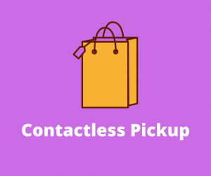 Bag image for contactless holds pickup