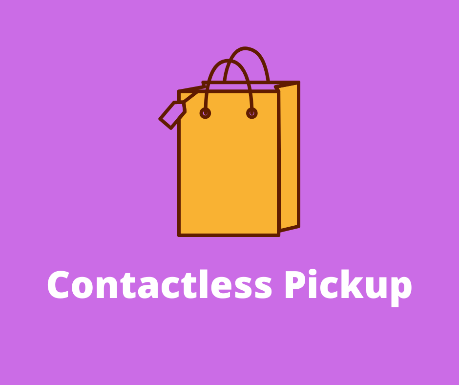 Bag image for contactless pickup