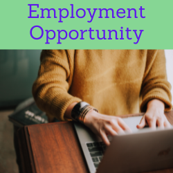 employment opportunity. links to employment opportunity post.