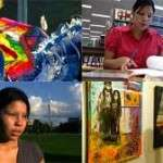 collage of first nations youth