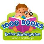 Logo for 1000 Books Before Kindergarten