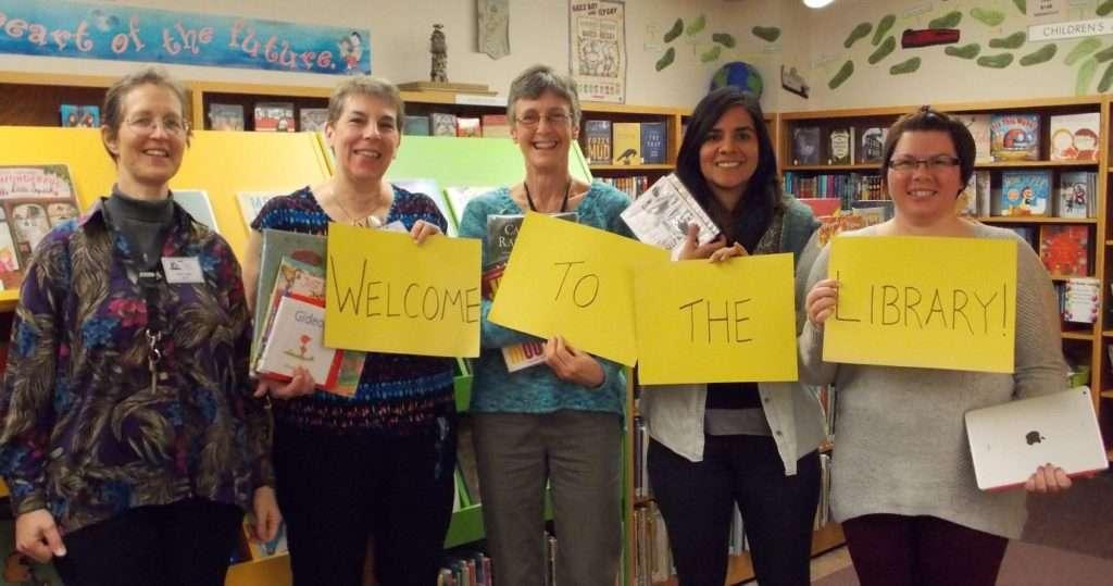 library staff photo