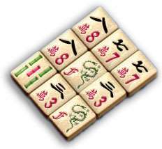 Picture of mahjong tiles