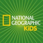 Logo for National Geographic Kids on Homework helpers page.
