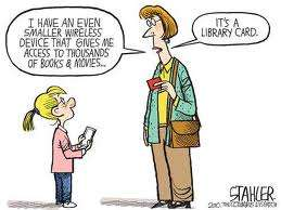 library card membership comic